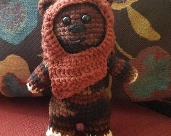 Amigurumi Ewok - Star Wars Crochet softie