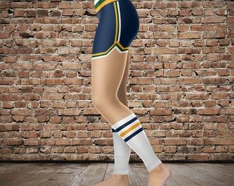 Retro Utah Uniform Athletic Leggings