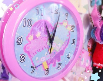 Trixie the Popcicle Wall Clock