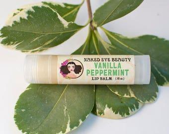 Vanilla Peppermint Lip Balm