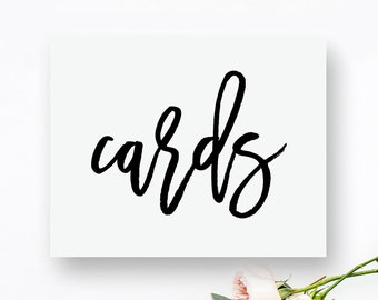 Printable Cards Sign. Cards Printable. Cards Wedding Sign. Wedding Printables. Wedding Printable Signs. Wedding Signs. Wedding Decor Rustic.