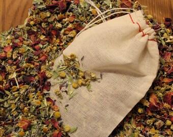 Aromatherapy Bath Tea Soak - Herbal Bath Soak - Therapeutic - Relaxing - Healing - Stress release - Treat Yourself - Bath tea bag soak
