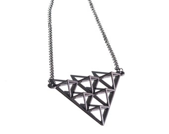 Tetrahedron Pendant | Necklace 2 by Alminty3D
