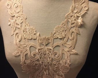 """French Lace Applique 22"""" Length"""