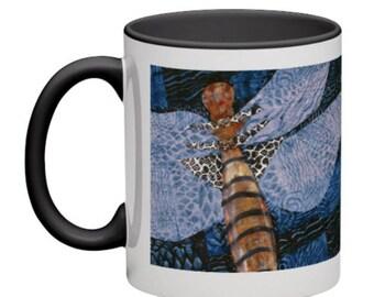 Shattuck's Mug  - DragonFly Series from artist's original art.