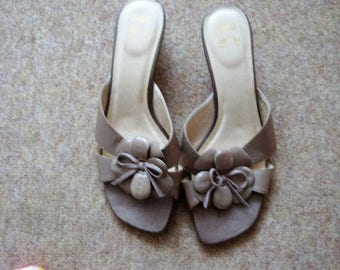 Beige Sandels by M&S size 5.5 uk 39 euro