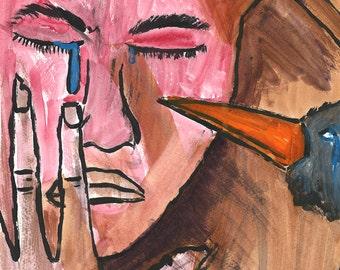 "DarksideArt fine Art Print ""Confusione Clamoris"""