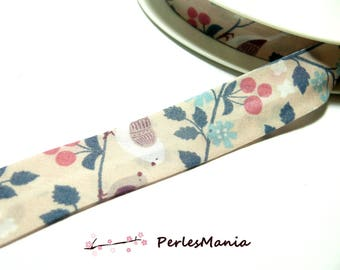 50 cm of bias tape liberty 20mm romantic 4053 collection 109, DIY