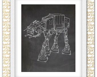 Robot Printable, Robot Poster, Robot Art, Robot Print, Robot Decor, Robot Wall Art, Robot Nursery Printable, Robot Wall Decor, Digital Print