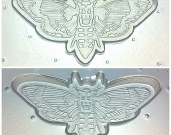 Flexible Resin Mold Death Head Moth