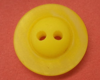 12 yellow buttons 16mm (5045) button