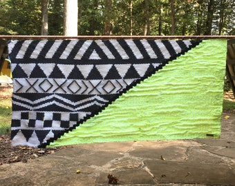 Ready-To-Ship Extra-Large Handmade Woven Wall Hanging Tapestry Weaving Wall art