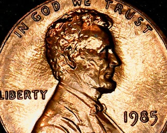 1985 LINCOLN ERROR CENT