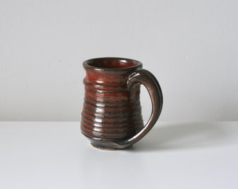 hand thrown coffee mug