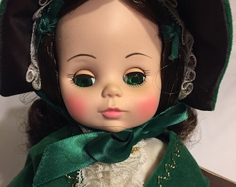 Sweet Vintage Madame Alexander Scarlett Gone with the Wind Doll