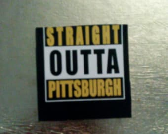 Straight outta Pittsburgh coasters