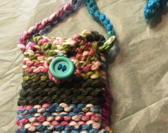 Mini Knitted Purse