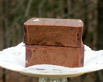Pure Chocolate Soap, Cocoa Soap, Luxury Soap, Boutique Soap, Chocolate Lovers, Gift for Girlfriend, Gift for Wife