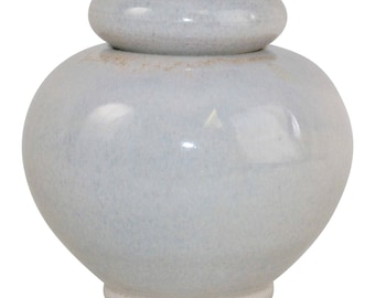 Grand River Studio Pottery Opalescent Covered Jar