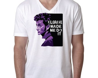 Jessica Jones Shirt,  Kilgrave Shirt, Kilgrave made me do it Shirt