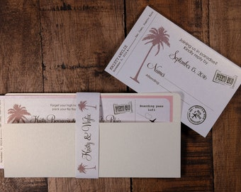 Rose Gold Boarding Pass Invitation, Blush And Gold Boarding Pass, Rose Gold Boarding Pass Wedding Invitation, Airplane Wedding Invitation