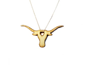 Texas Longhorn Necklace