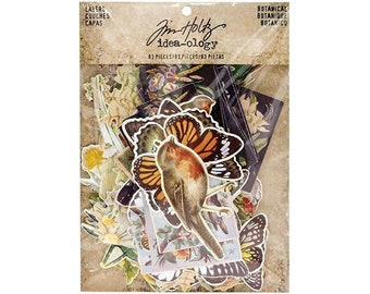 Idea-ology Layers-  Botanical By Tim Holtz