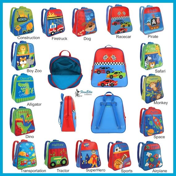 Stephen Joseph Go Go Backpack, Persnoalized Backpack, Kids Backpack, Back To School, Boys Backpack, Girls Backpack, Preschool Bookbag