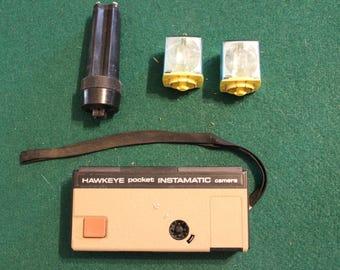 Kodak Hawkeye Instamatic Pocket 110 Camera with Flash Tower