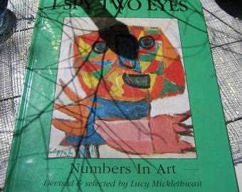 I Spy Two Eyes Numbers in Art a Book by Micklethwait