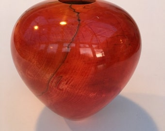 Coloured Spalted Chestnut Hollow Form