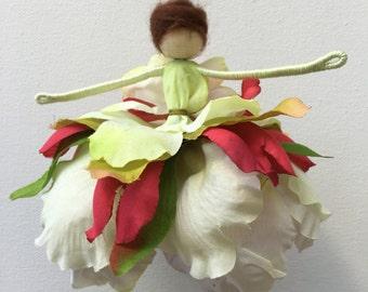 Flower Fairy Christmas Ornament