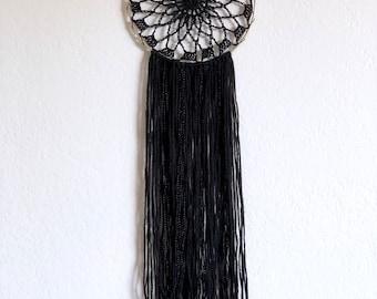 Crochet Mandala Dream Catcher / Modern Wall Art