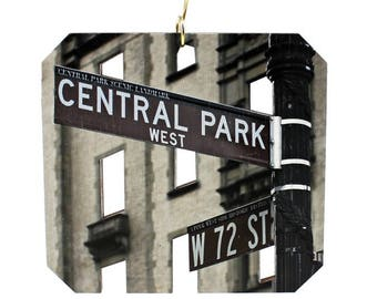 Central Park Ave Ornament #S992