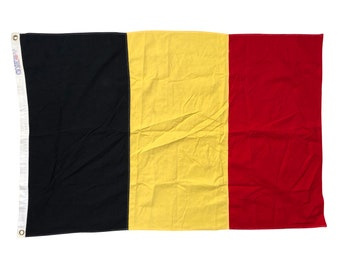 Vintage Belgium Flag - Made by Dettras Flags