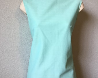 1970s sleeveless poly top
