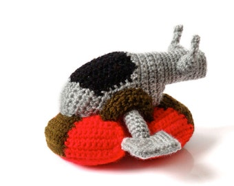 Star Wars Slave I Crochet Amigurumi Pattern - Boba Fett's Spaceship