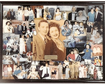 "Anniversary 3D Photo Collage (18""x24"" shown)"