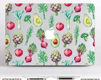 Vegetables MacBook Air Decals MacBook Pro 13 2017 Keyboard Skin  Mac Case Personalised MacBook Air 11 Cover MacBook Pro 13 Sleeve DR3142