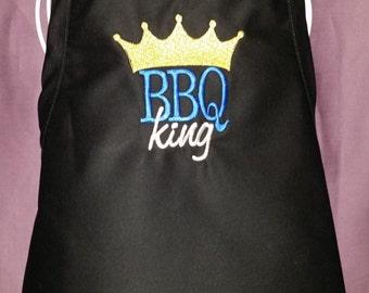 BBQ King Mens Apron