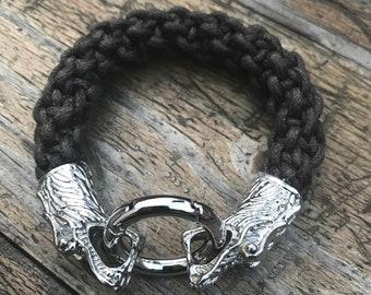 Dragon bracelet with spring clasp.19cm