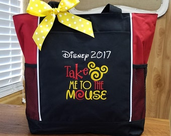 Tote Bag Travel Bag Disney Vacation Disney Cruise Personalized