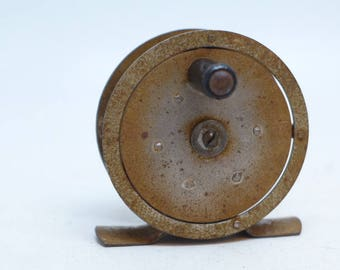 "Vintage Gayle ""Simplicity"" No. 2 Fly Fishing Reel - Fly Fishing Reel - Fishing Equipment - Vintage Fishing - Cabin Decor"