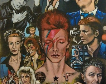 David Bowie 'Changes' Art Print