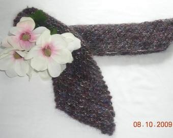 Knit Mohair-Blend Scarf