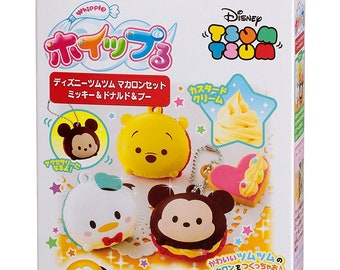 "Whipple Fake Sweets Making Kit""Whipple Disney Tsum Tsum Macaron Set Mickey and Donald and Pooh""[B072KPRHTX]"