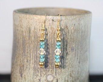 Swarovski Crystal Earrings - Item 1203