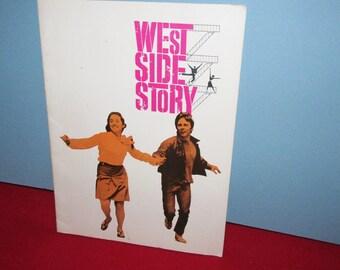 """Vintage Stage Program """"West Side Story"""""""