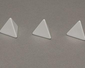 4-sided blank dice