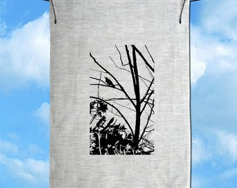 Currawong Baby LinenTea Towel Free Shipping Australia Wide.